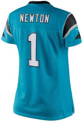 Nike Women's Cam Newton Carolina Panthers Color Rush Limited Jersey