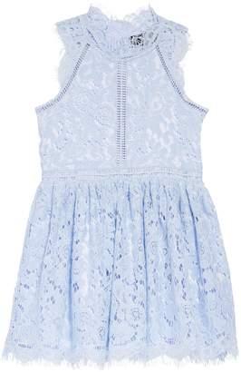 Bardot Junior Floral Lace Fit & Flare Dress