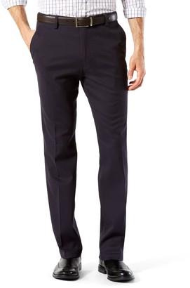 Dockers Men's Stretch Easy Khaki D2 Straight-Fit Flat-Front Pants
