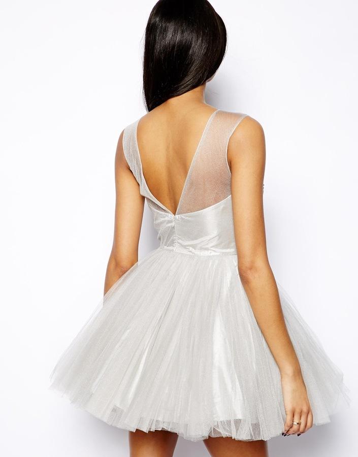 Forever Unique Bonny Embellished Skater Dress