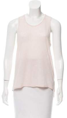 Rag & Bone High-Low Sleeveless Top