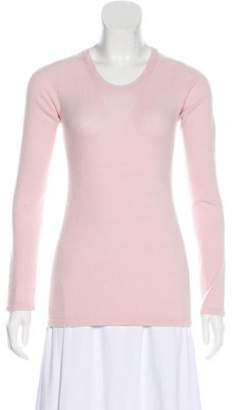 Chanel Cashmere Knit Sweater Pink Cashmere Knit Sweater