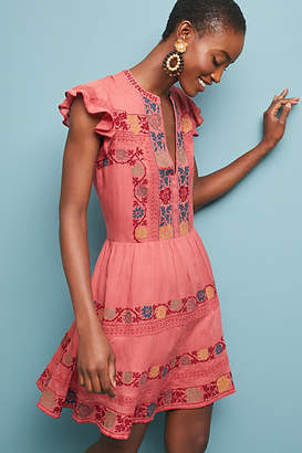 Love Sam Zinnia Embroidered Dress