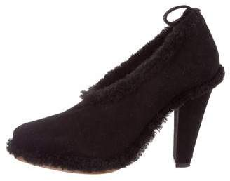 Chloé Pointed-Toe Suede Booties