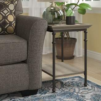 Three Posts Oakside Tray Table