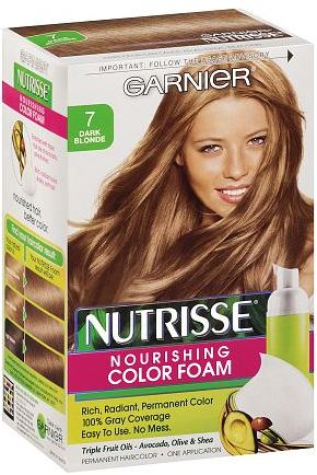 Garnier Nutrisse Nutrisse Nourishing Color Foam Permanent Haircolor Dark Blonde 7