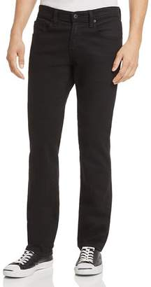 AG Jeans Graduate New Tapered Slim Straight Fit Jeans in Sulfur True Black