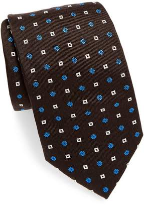 Brioni Men's Two Pattern Silk Tie