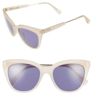 Derek Lam 'Lenox' 53mm Cat Eye Sunglasses
