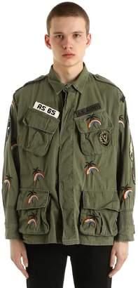 Vintage Embroidered Gabardine Jacket