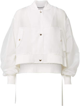 Schumacher Dorothee Sensitive Transparencies Crop Jacket