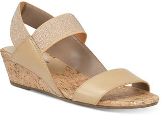 Donald J Pliner Elsie Wedge Sandals Women Shoes