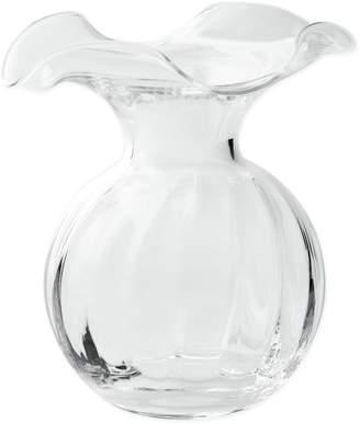 Vietri Hibiscus Fluted Vase