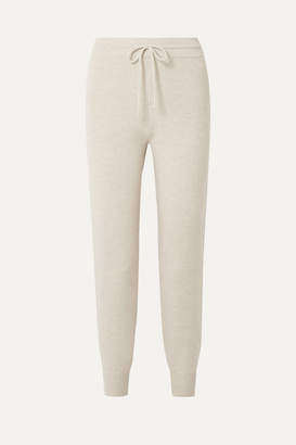 Theory Wool-blend Track Pants