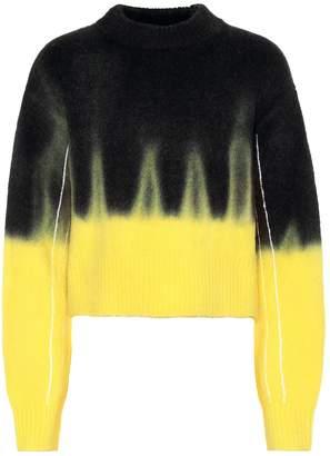 Proenza Schouler Tie-dye wool-blend sweater