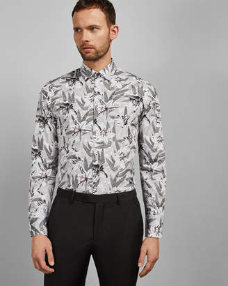 Ted Baker CAZOU Classic fit cotton shirt