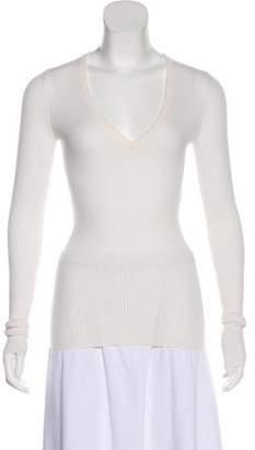 Barbara Bui Wool Long Sleeve Top