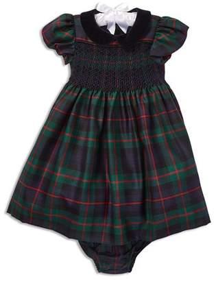 Ralph Lauren Girls' Plaid Wool Dress & Bloomers Set - Baby