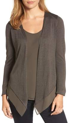 Nic+Zoe Paired Up Silk Blend Cardigan