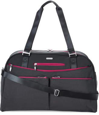Baggallini Charcoal Weekender Tote Bag