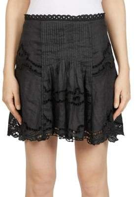 Isabel Marant Marion Lace Mini Skirt