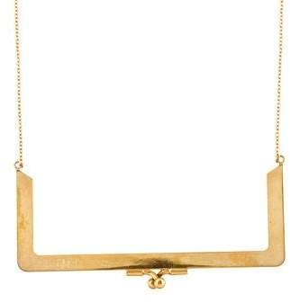 MM6 MAISON MARGIELA Purse Frame Necklace