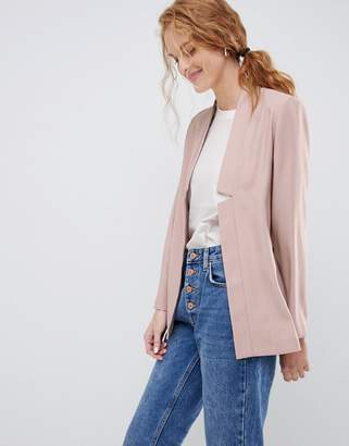 Asos Design DESIGN tailored easy chuck on blazer