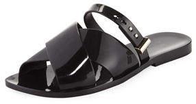 Jason Wu Melissa Shoes Diane + Crisscross Slide Flat Sandal