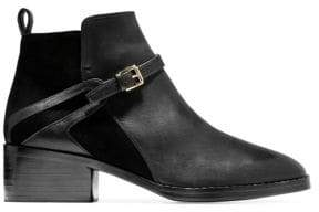 Cole Haan Etta Leather& Suede Ankle Booties