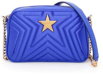Stella McCartney Quilted Satin Stella Star Bag