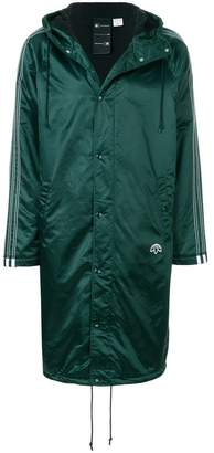 Adidas Originals By Alexander Wang long length stadium jacket