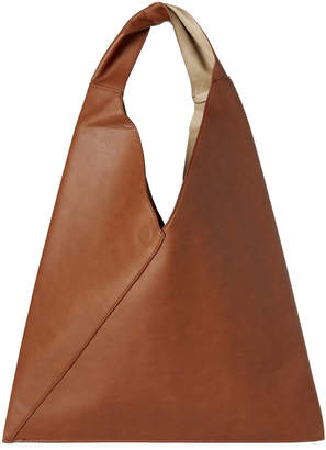 Street Level Brown & Taupe Reversible Hobo