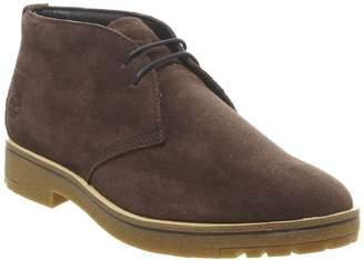 Timberland Folk Gentleman Chukka Boots Dark Brown