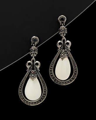 Scott Kay Guardian Silver 24.63 Ct. Tw. Gemstone Drop Earrings