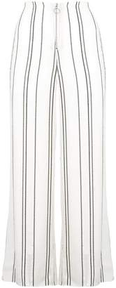 Proenza Schouler Crepe Striped Pants