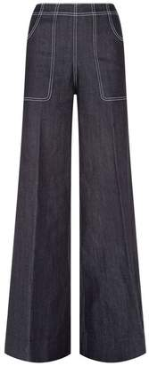 Burberry Wide Leg Jeans