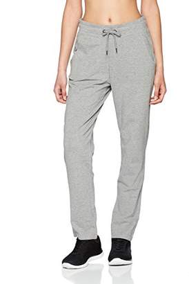 Esprit Women's 018ei1b005-Cotton Trousers, (Medium Grey 2 036), 8 (Size: X-Small)