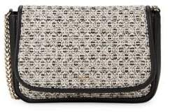 Karl Lagerfeld Paris Textured Flap Shoulder Bag