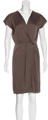 Diane von Furstenberg Akari Silk Knee-Length Dress
