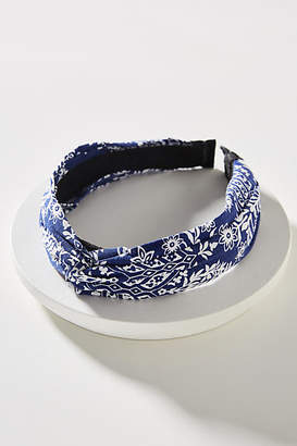 Anthropologie Jean Printed Headband