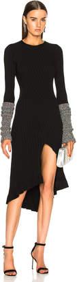 Esteban Cortazar Cuff Knit Dress