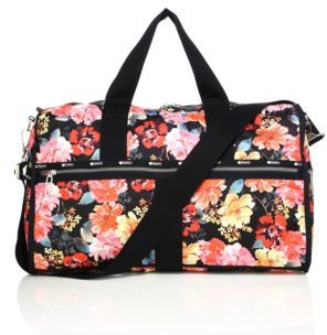LeSportsac CR Large Floral Weekender Bag $200 thestylecure.com