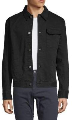 Helmut Lang Point Collar Cotton Jacket