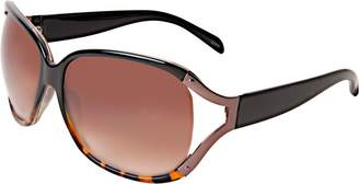 Icon Eyewear Black & Tortoise Ombre Fashion Sunglasses