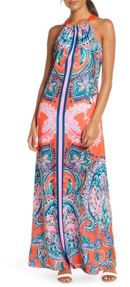 Lilly Pulitzer Hollyn Back Tie Maxi Dress