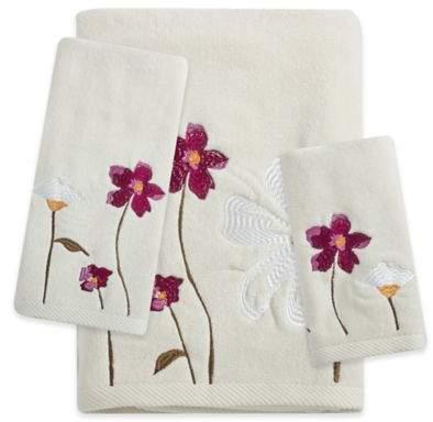 Croscill® Pressed Flowers Bath Towel