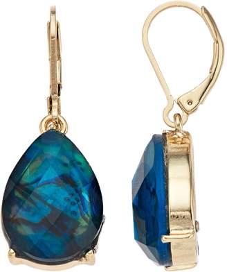 Napier Blue Teardrop Earrings