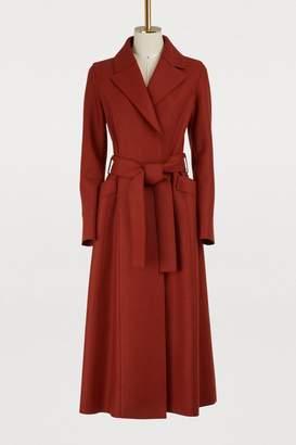 Harris Wharf London Virgin wool long coat