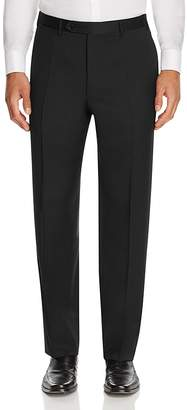 Canali Siena Classic Fit Wool Trousers $325 thestylecure.com