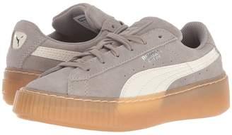 Puma Kids Suede Platform Sneaker PS Kids Shoes